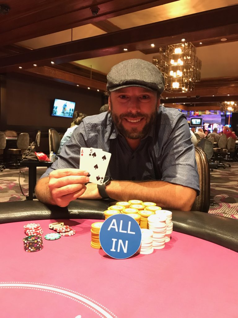 Arron wins Las Vegas poker tournament